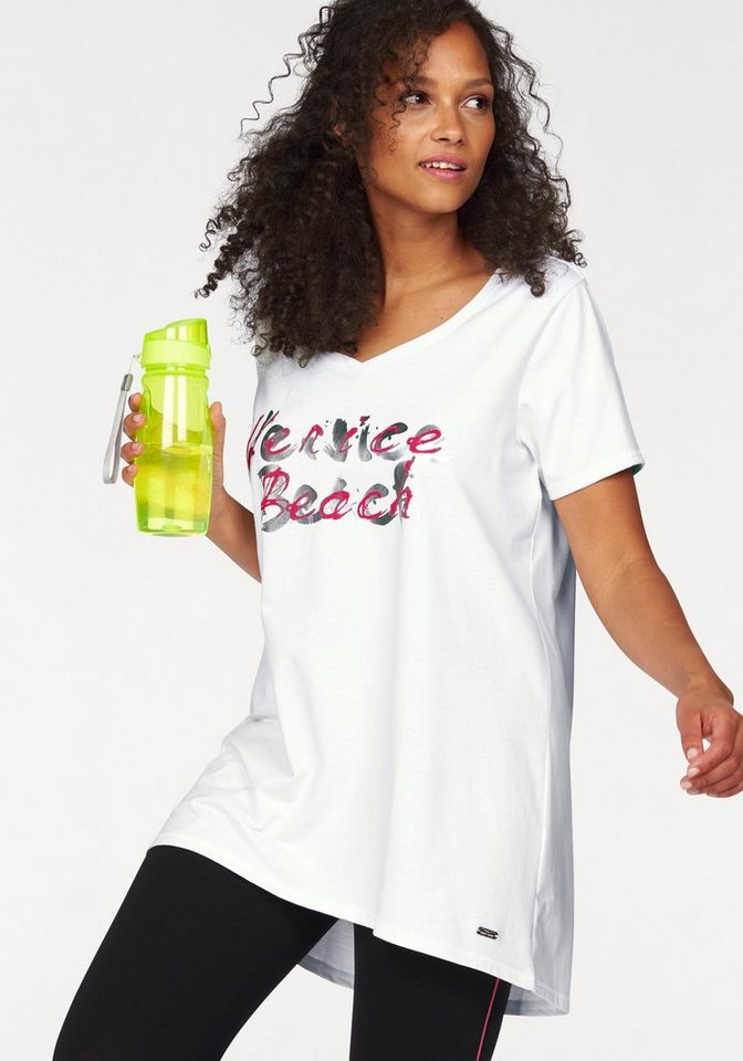 Venice Beach Longshirt in weiß