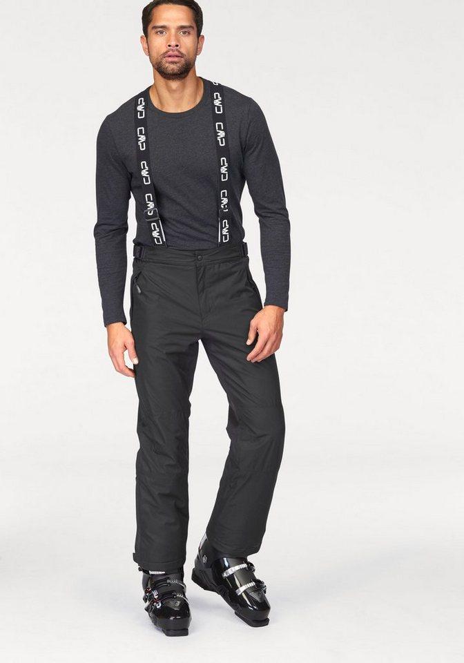 CMP Skihose mit abnehmbaren und verstellbaren Hosenträgern in schwarz
