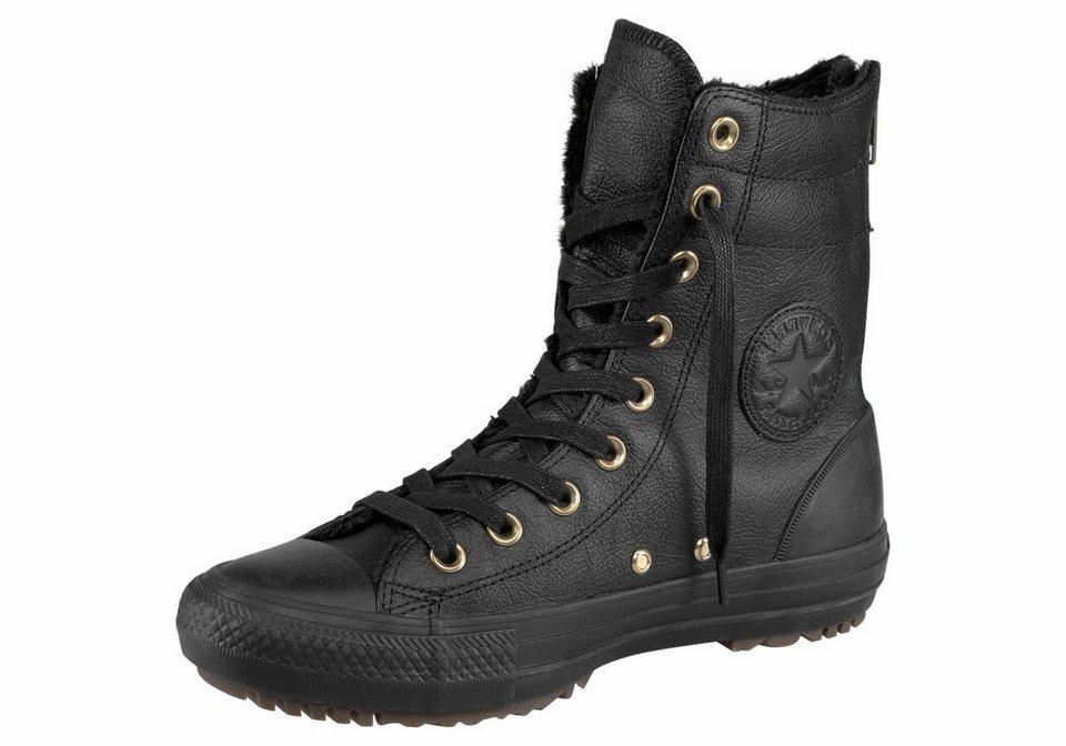 Converse »Converse CTAS Hi-Rise Boot« Sneaker Mit Fellimitat gefüttert in schwarz