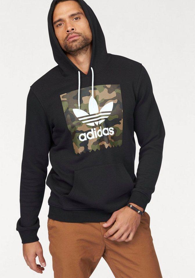 adidas Originals Kapuzensweatshirt »CAMO BB HD« in schwarz