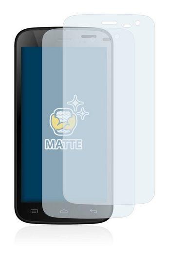 BROTECT Schutzfolie »für Mobistel Cynus F4«, (2 Stück), Folie Schutzfolie matt entspiegelt