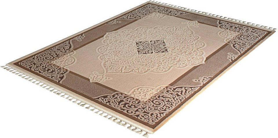 Orient-Teppich, Sanat Hali, »Delüks 6826«, gewebt in beige