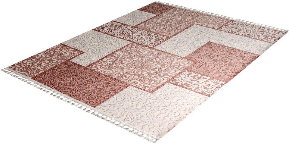 Orient-Teppich, Sanat Hali, »Delüks 6891«, gewebt in beige