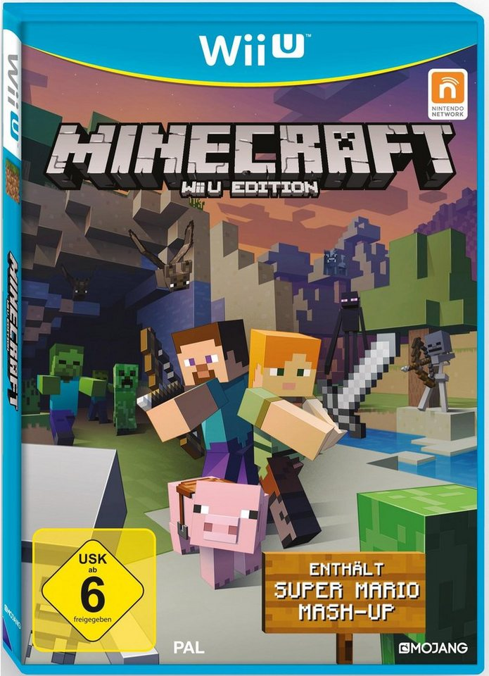 Minecraft Edition inkl. Super Mario Mash-Up Nintendo Wii U