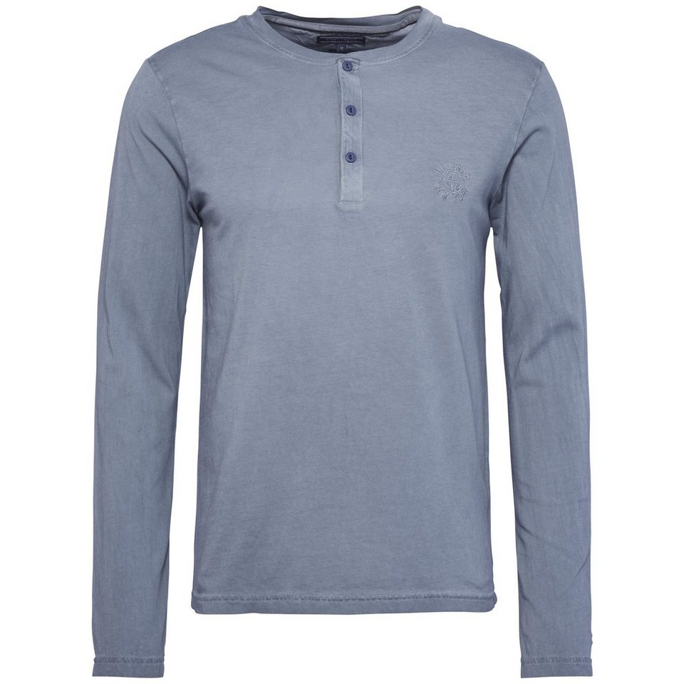 Tommy Hilfiger T-Shirts (langarm) in FLINT STONE