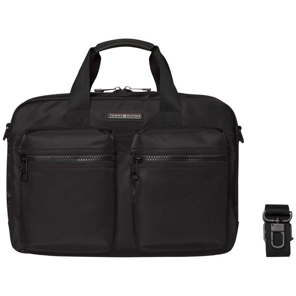 Tommy Hilfiger Handtaschen »EASY NYLON COMPUTER BAG« in Black
