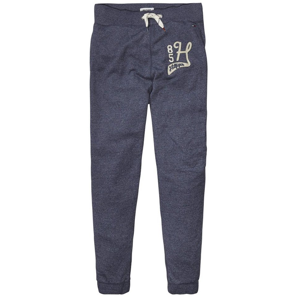 Hilfiger Denim Hosen lang »THDM BASIC JOGGING PANT 1« in BLACK IRIS