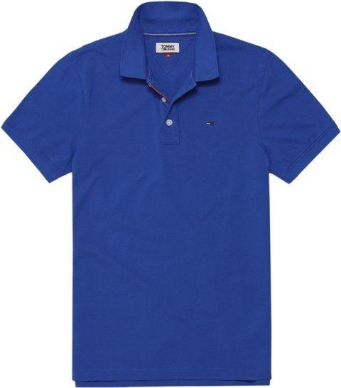 Hilfiger Denim Poloshirts (kurzarm) »THDM BASIC POLO S/S 1« in AQUARELLE