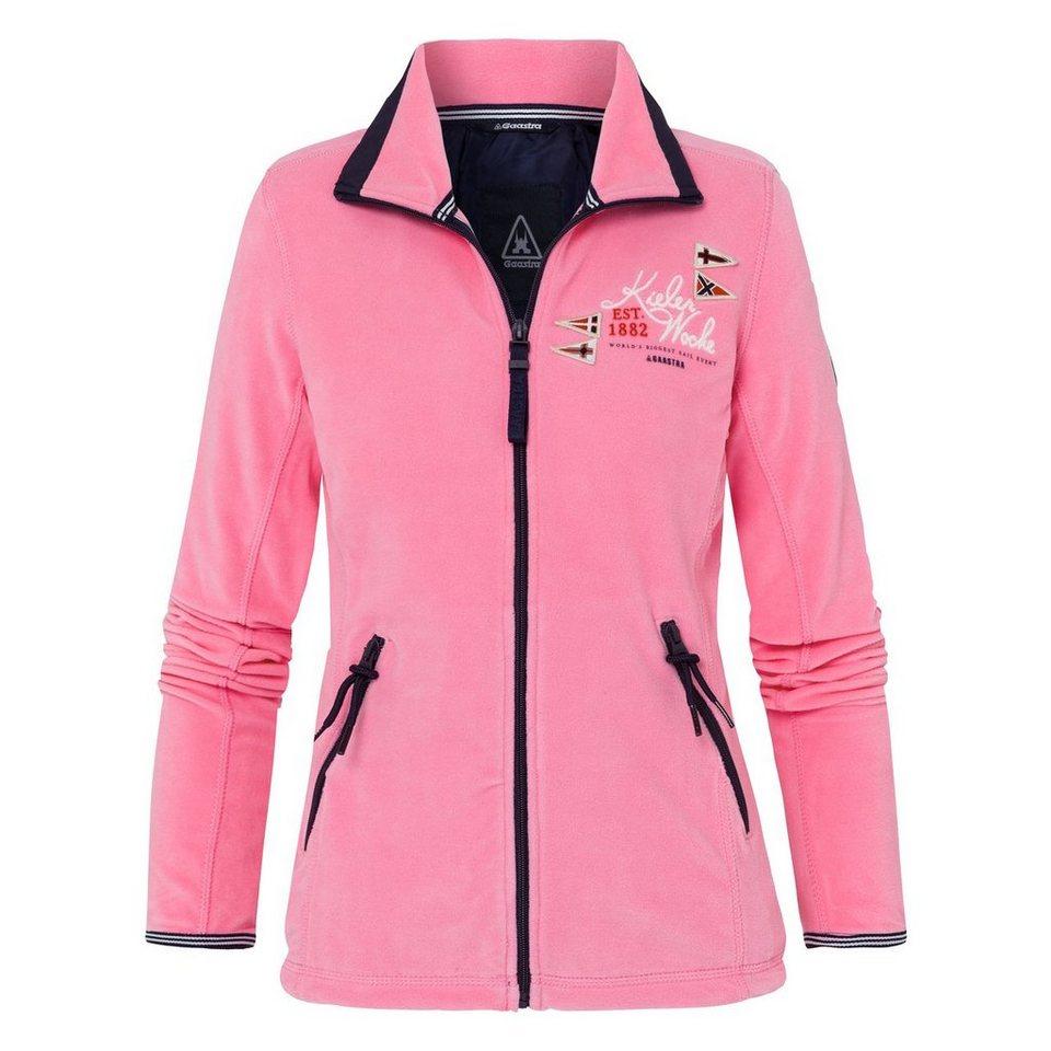 Gaastra Fleecejacke in pink