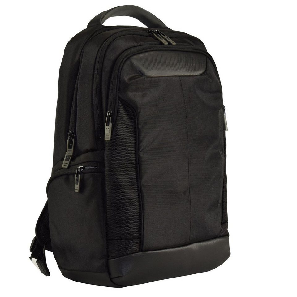 Roncato Overline Rucksack 45 cm Laptopfach in nero