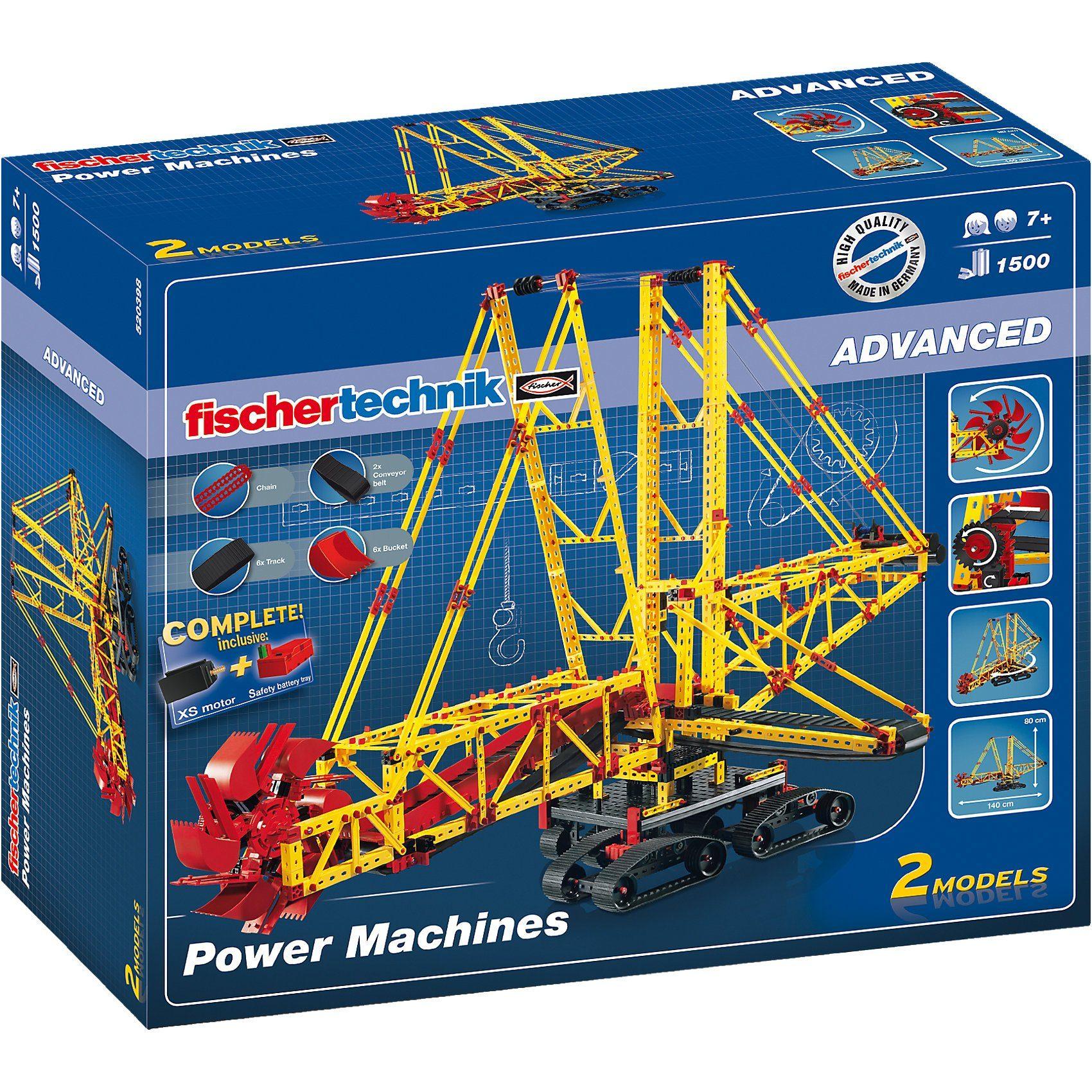 """fischertechnik Advanced """"Power Machines"""" - Baukasten"""