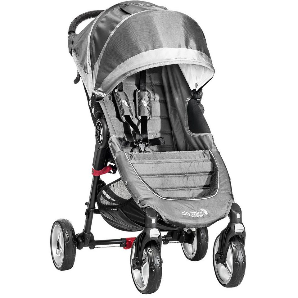 Baby Jogger Sportwagen City Mini 4-Rad, steel/ gray, 2016 in stahl