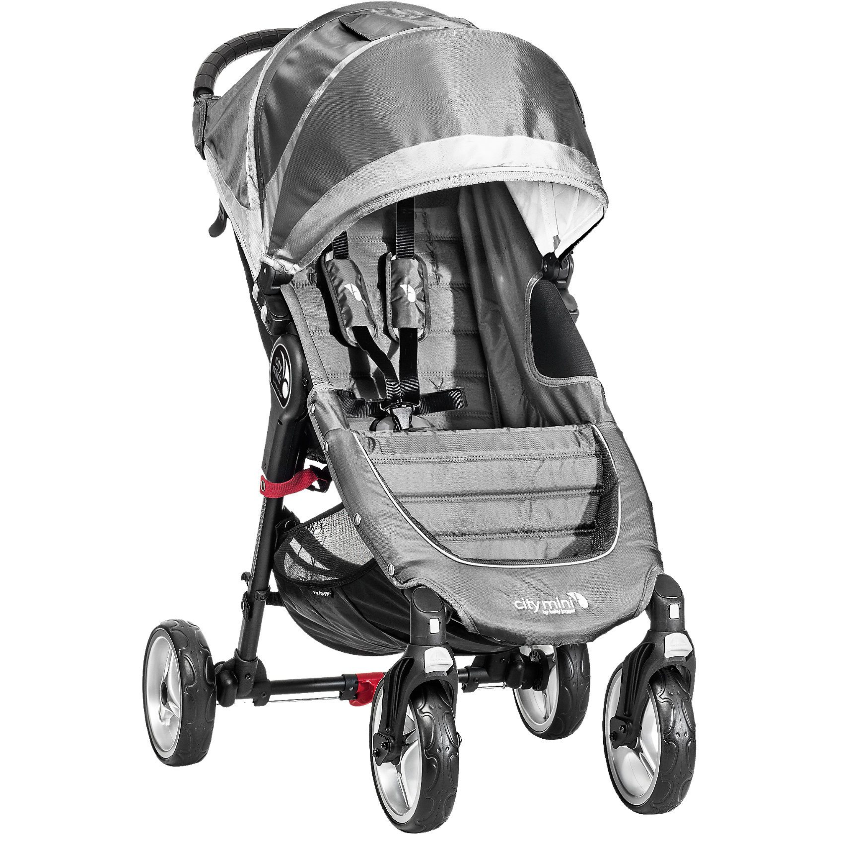 Baby Jogger Sportwagen City Mini 4-Rad, steel/ gray, 2016