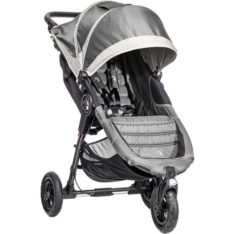 Baby Jogger Jogger City Mini GT, steel/ gray, 2016 in stahl