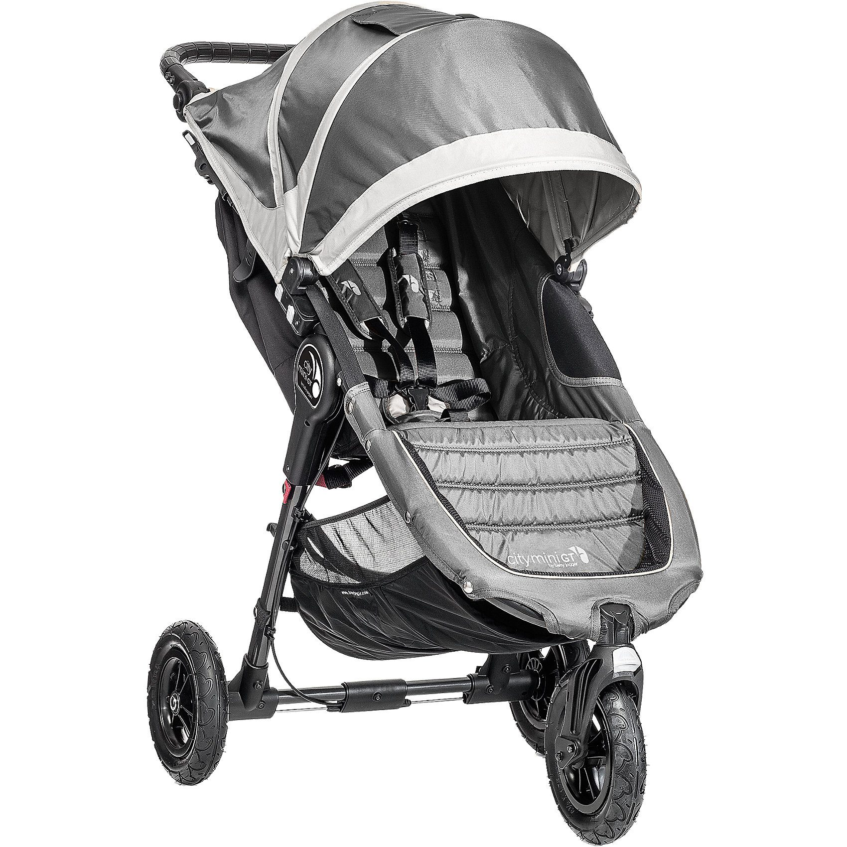 Baby Jogger Jogger City Mini GT, steel/ gray, 2016