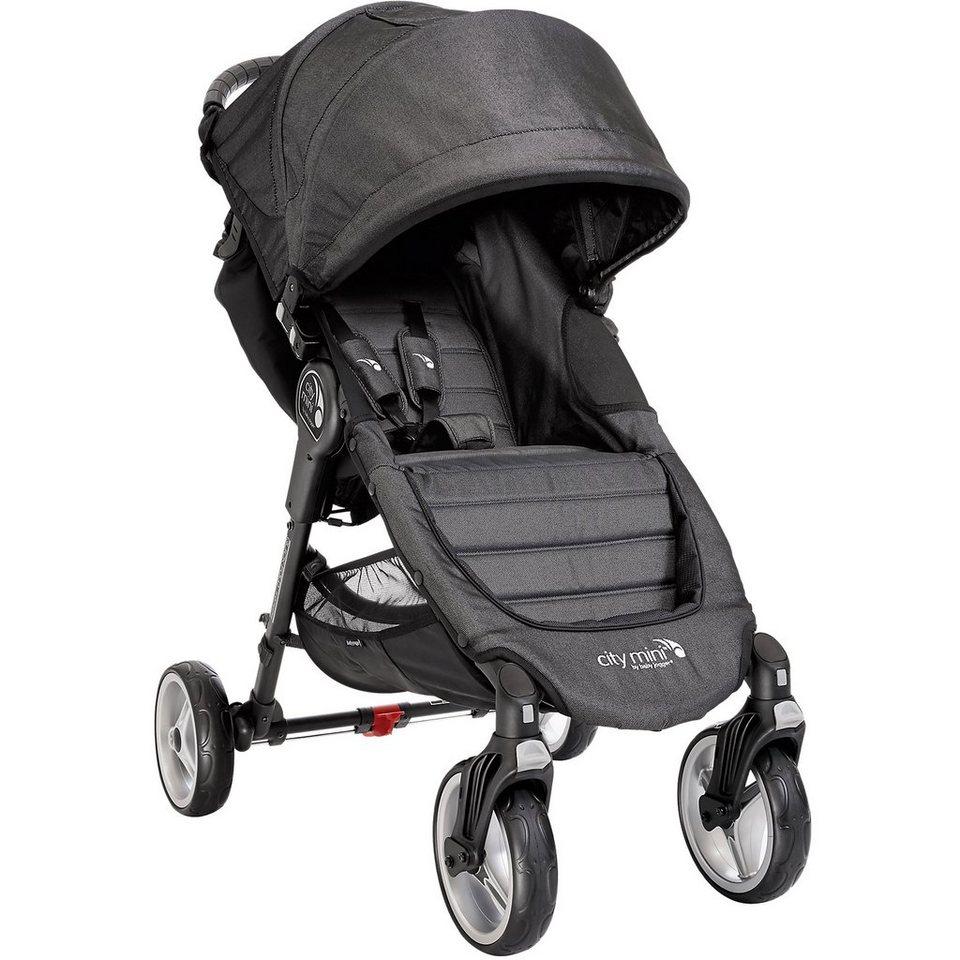 Baby Jogger Sportwagen City Mini 4-Rad, black denim in black denim