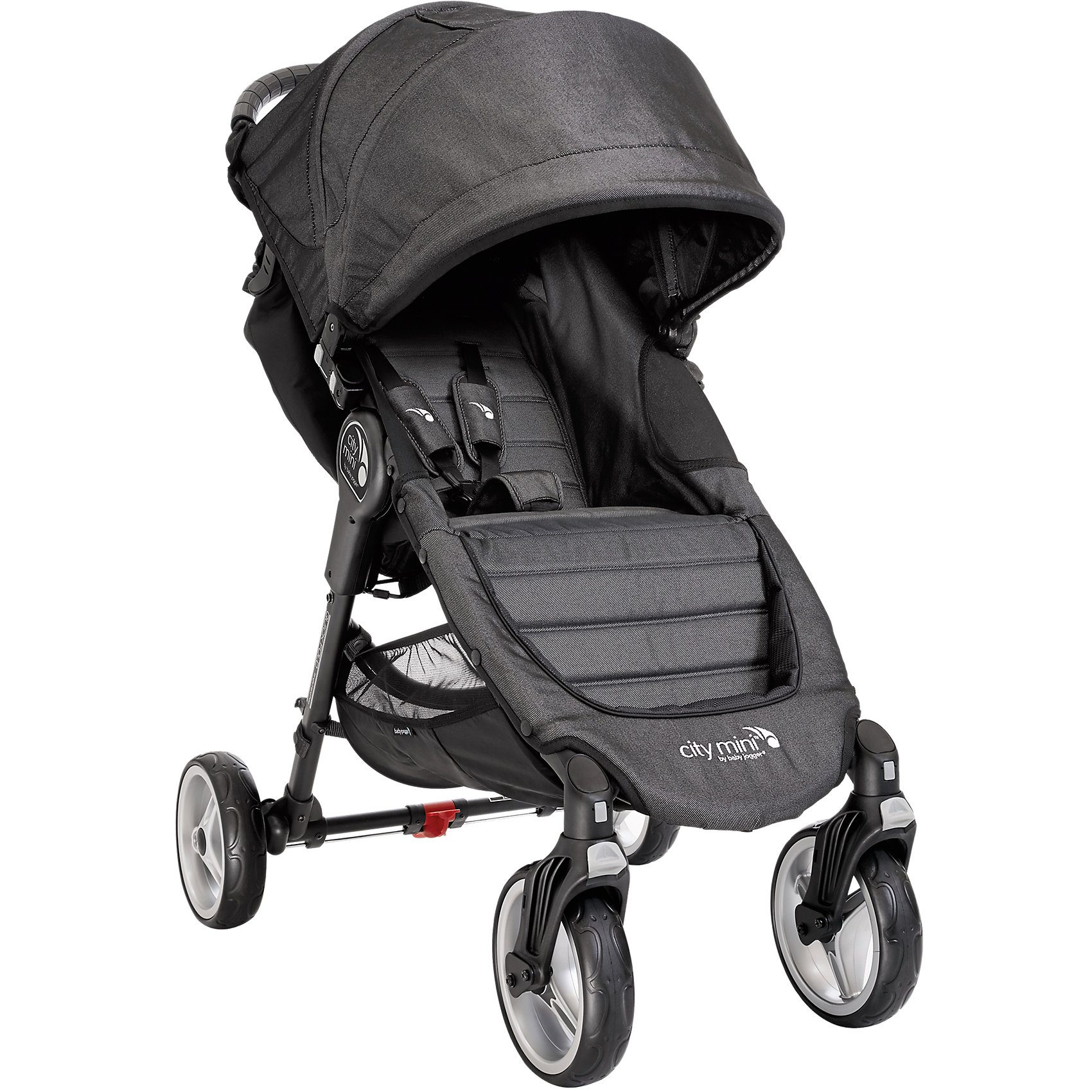 Baby Jogger Sportwagen City Mini 4-Rad, black denim