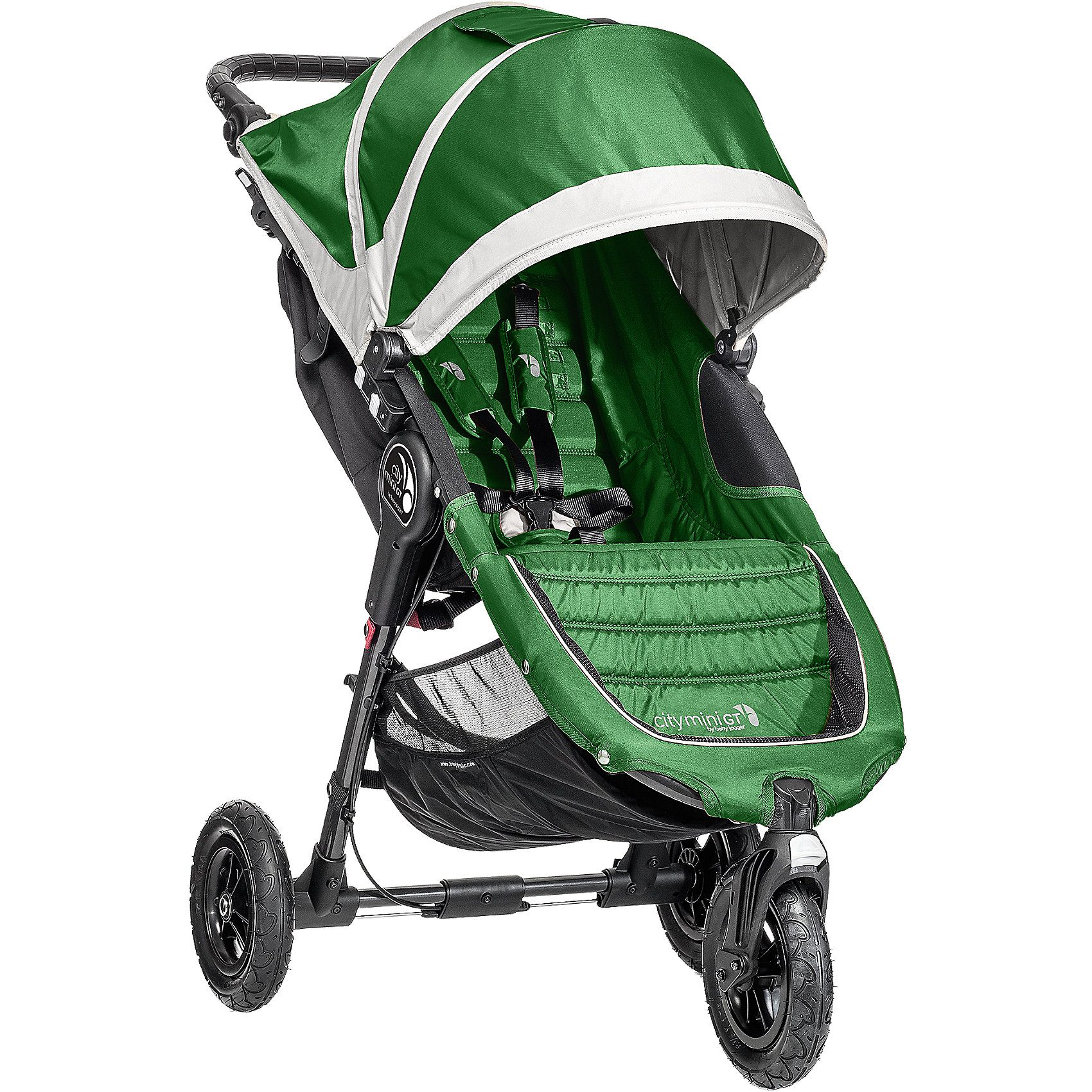 Baby Jogger Jogger City Mini GT, evergreen/ gray, 2016