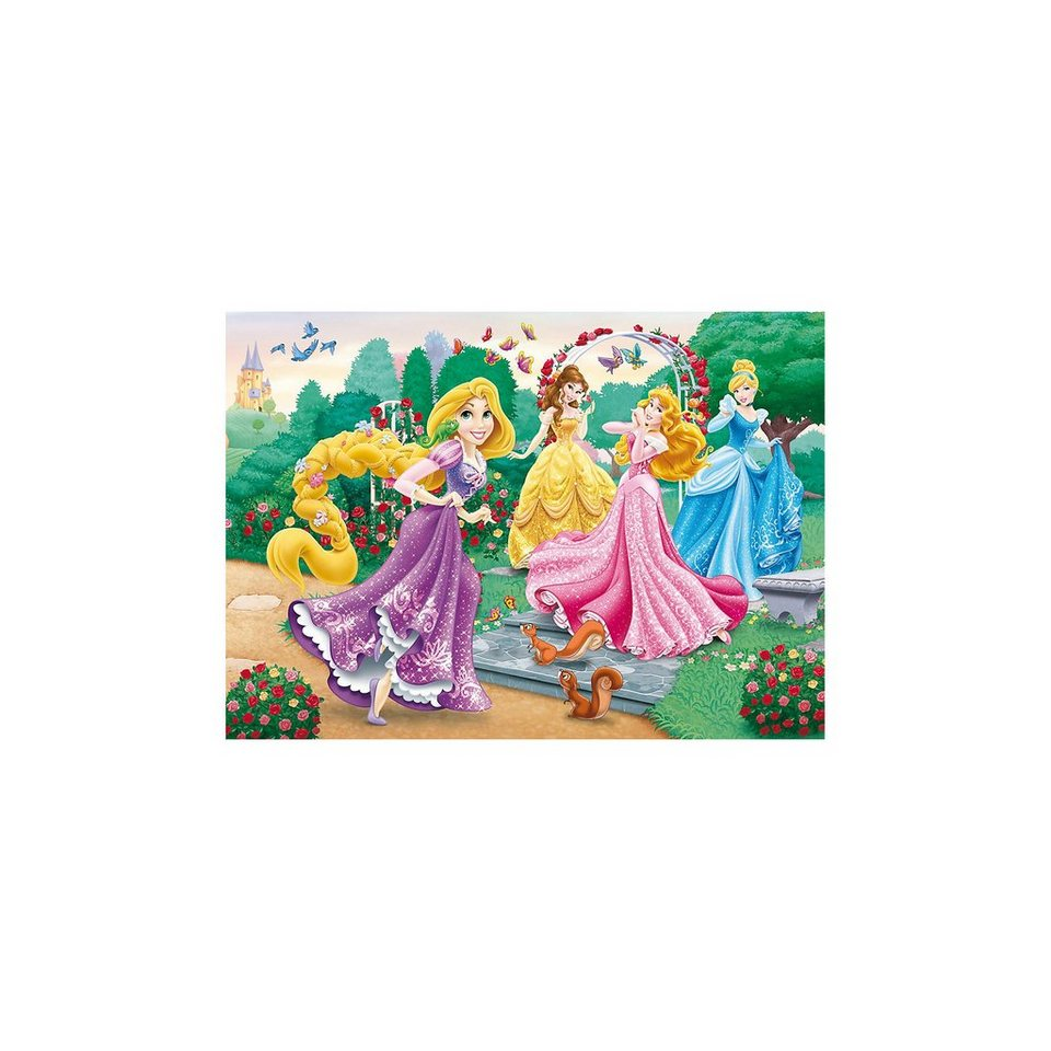 Clementoni Puzzle 250 Teile - Princess: A Walk in the Garden