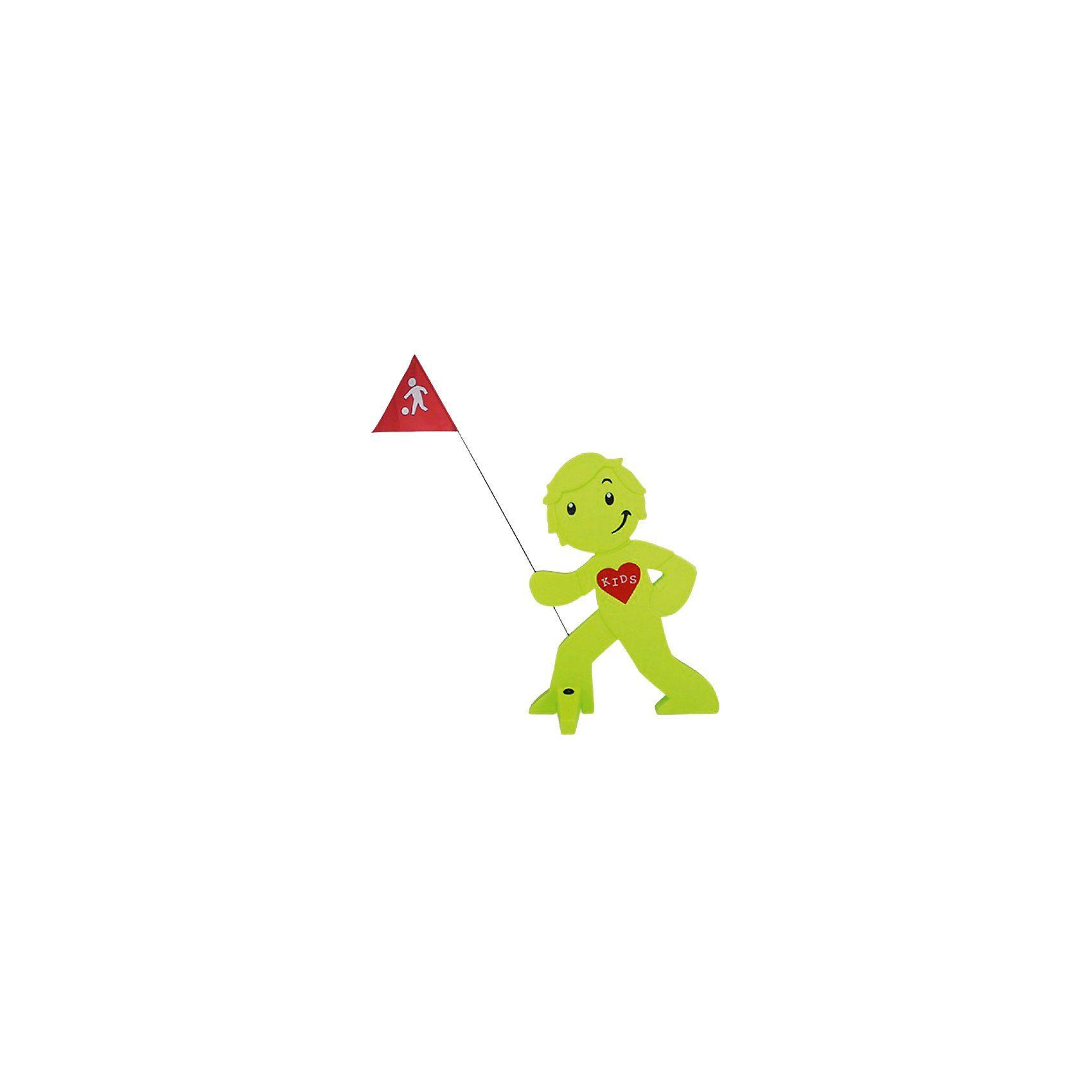 Beachtrekker StreetBuddy Warnfigur für Kindersicherheit, grün