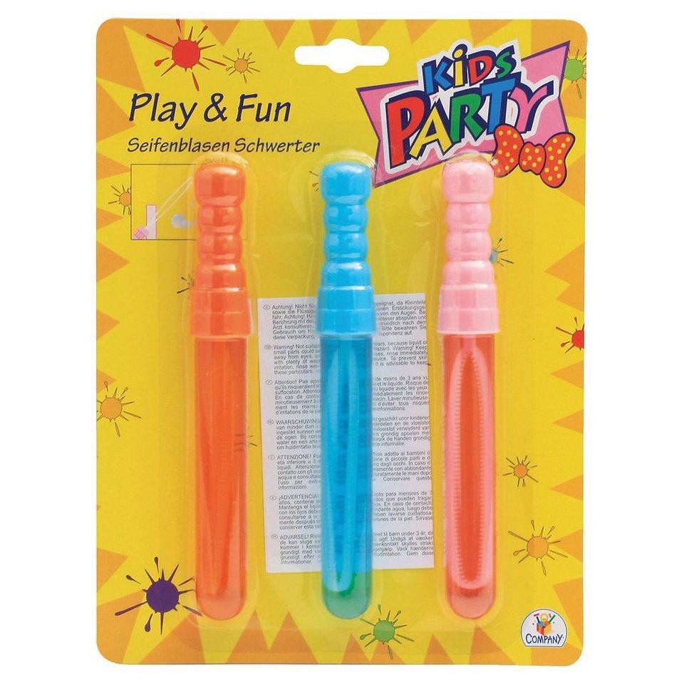 The Toy Company Kids Party Seifenblasen Schwerter