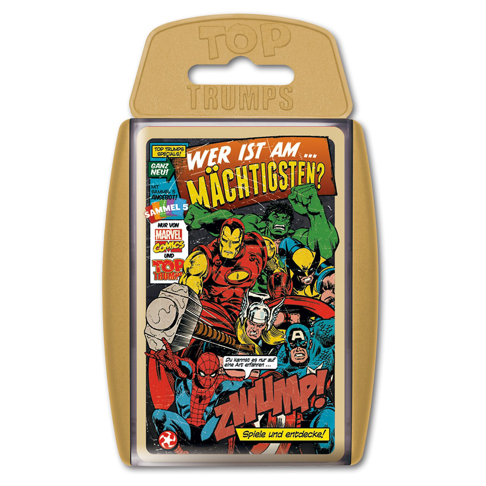Winning Moves Top Trumps - Marvel Comics
