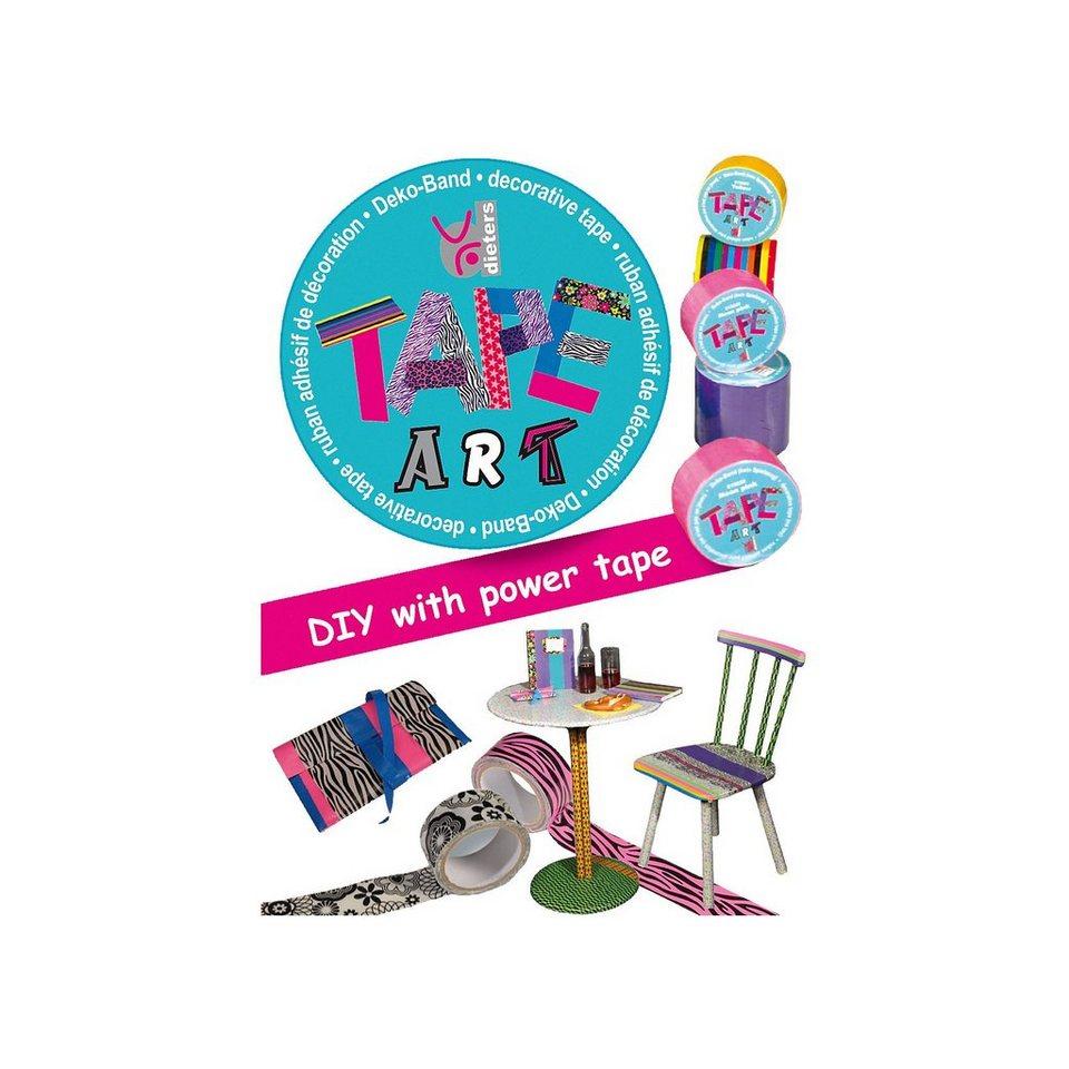 Tape Art Set pink, 2 Rollen mit 3,4 m