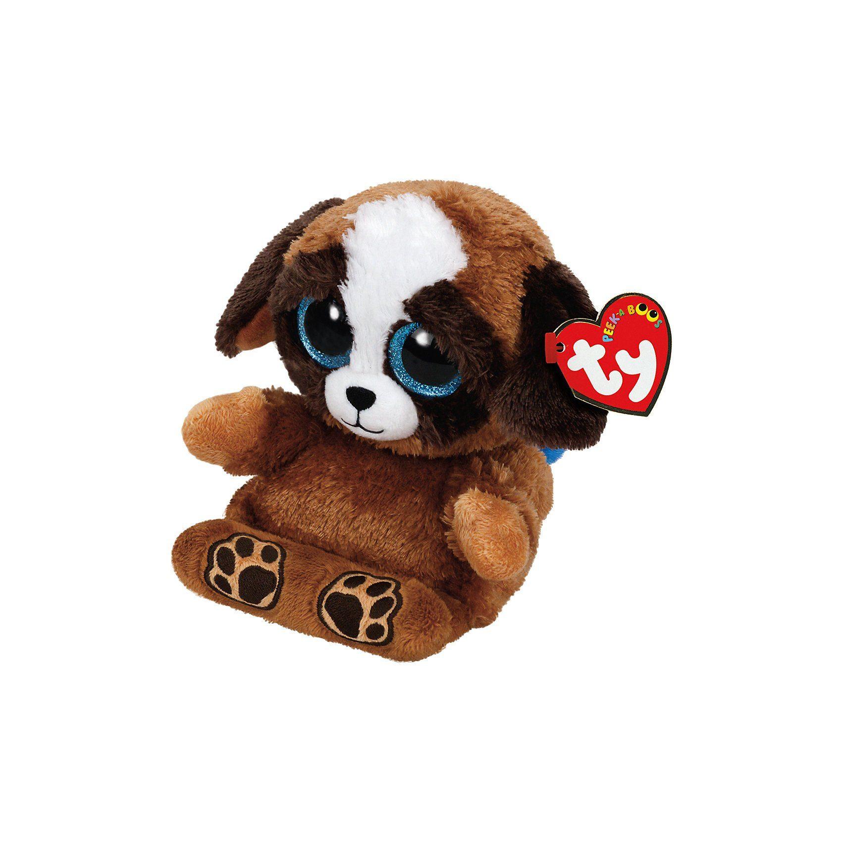 Ty Peek-A-Boo Pups, Hund 15 cm, Handyhalter