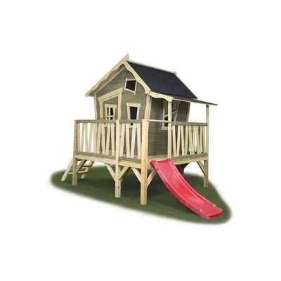 EXIT Spielhaus Crooky 350, Ca. 180x313x229