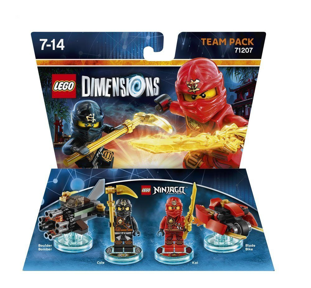 Warner Games Fanartikel »Lego Dimensions Team Pack (Ninjago)«