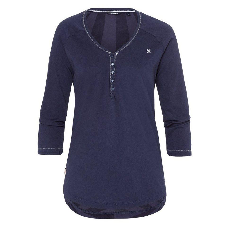 Gaastra Langarmshirt in blau