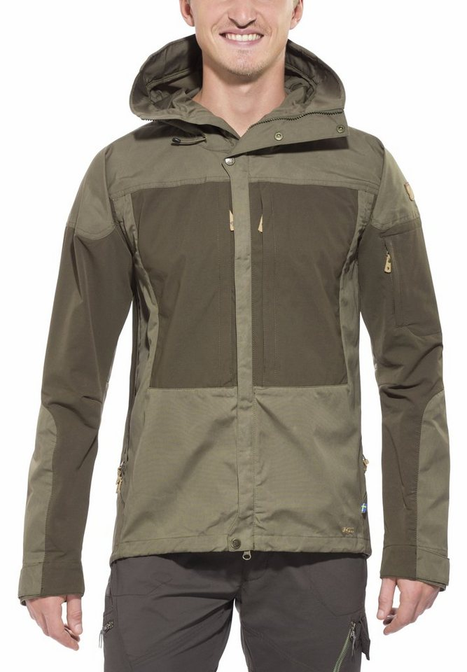 FJÄLLRÄVEN Outdoorjacke »Keb Jacket Men« in oliv
