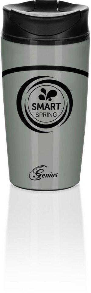 Genius® Thermobecher, 300 ml, »Smart Spring« in hellgrau