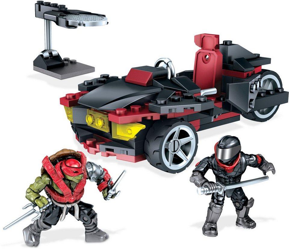 Mattel Spielset, »Mega Bloks Teenage Mutant Ninja Turtles Movie 2 - Raphs Straßen-Fight«