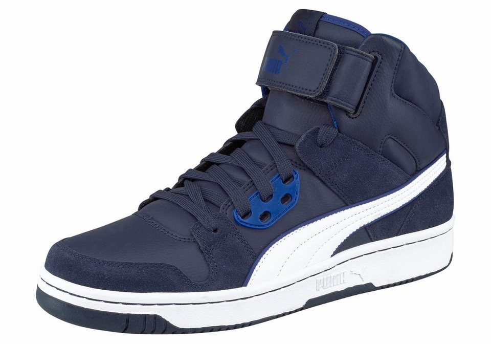PUMA »PUMA Rebound Street« Sneaker in dunkelblau-weiß