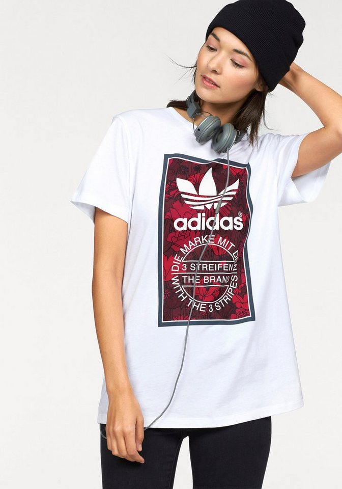 adidas Originals T-Shirt in weiß