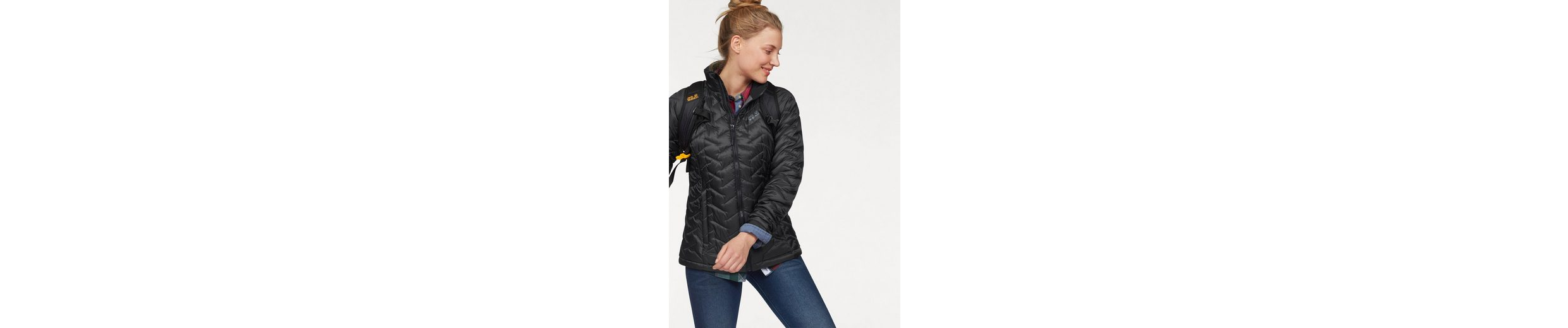 Jack Wolfskin Steppjacke ICY CREEK WOMEN, warm wattierte Übergangsjacke