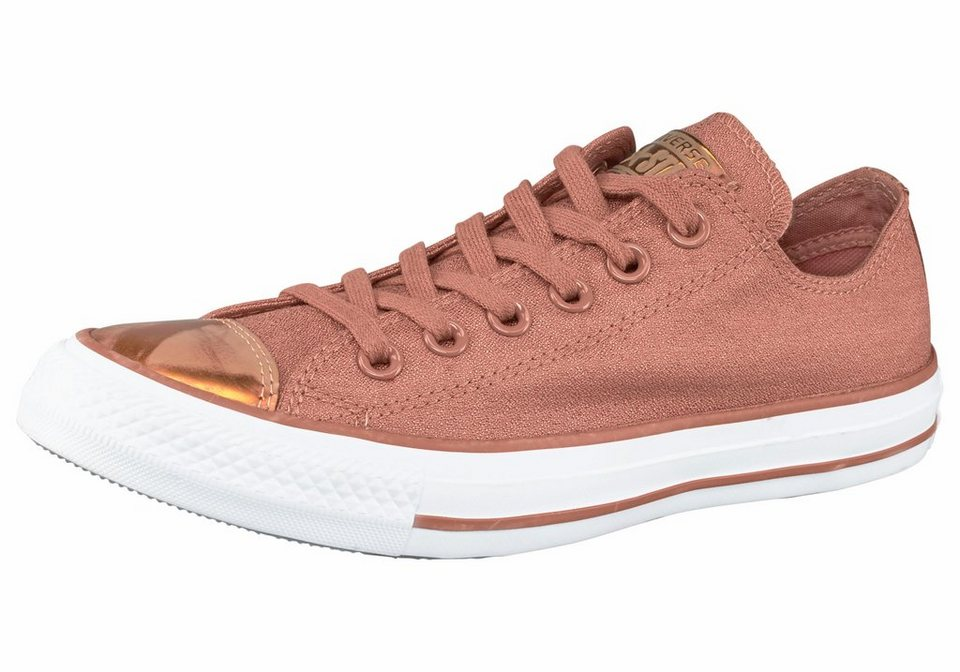 Converse »Chuck Taylor All Star Brush Off Toecap Ox« Sneaker in kupfer-goldfarben