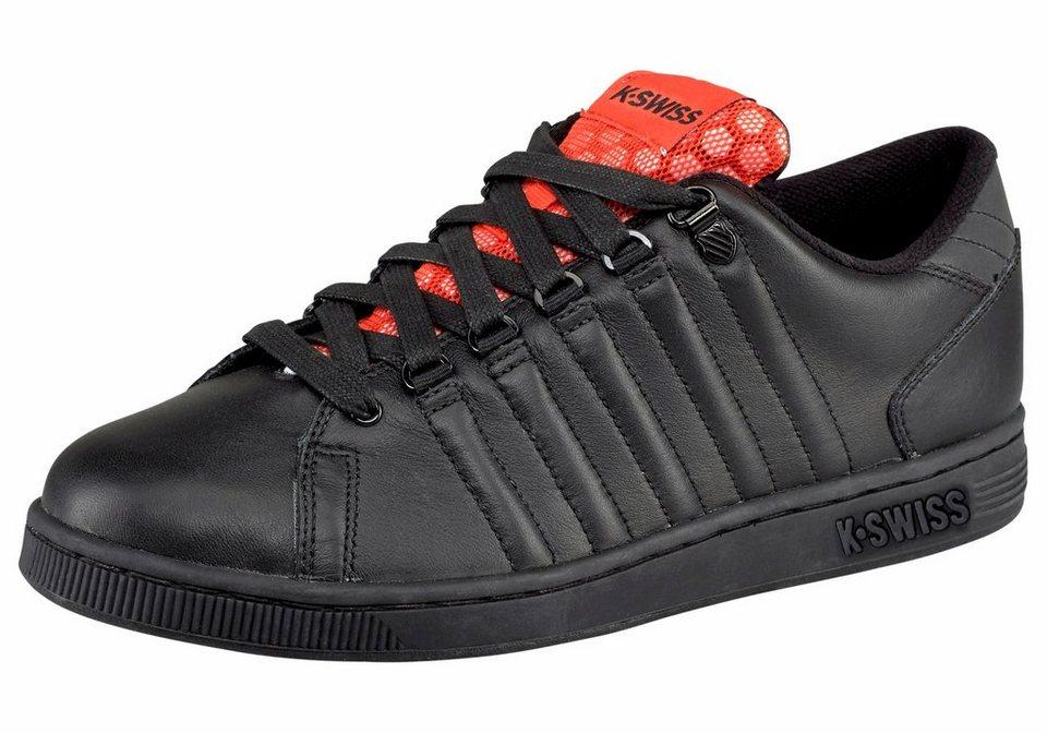 K-Swiss »Lozan TT Reflective« Sneaker in schwarz-orange