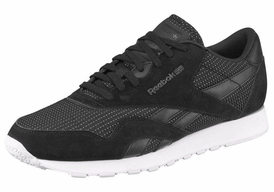 Reebok »Classic Nylon ST« Sneaker in schwarz