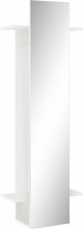 Schildmeyer Garderobenpaneel Beli mit Spiegel weiß | 04027181092309
