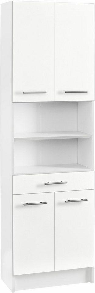 Hochschrank, Schildmeyer, »Sellin«, Breite 60 cm in weiß-weiß