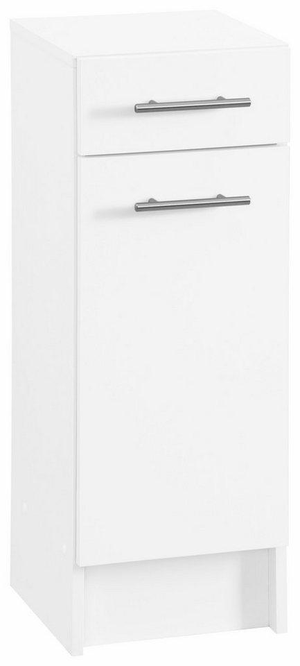 Unterschrank, Schildmeyer, »Sellin«, Breite 30 cm in weiß-weiß