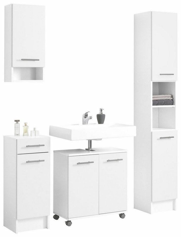 badschrank badezimmerschrank online kaufen otto. Black Bedroom Furniture Sets. Home Design Ideas