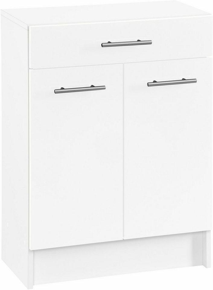 Unterschrank, Schildmeyer, »Sellin«, Breite 60 cm in weiß-weiß