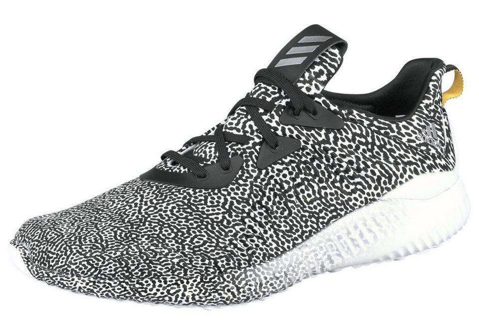 adidas Performance »Alphabounce M Arami« Laufschuh in schwarz-weiß