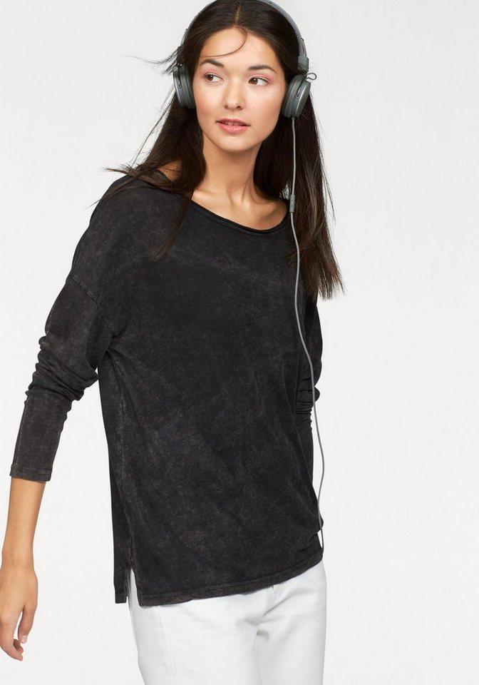 Billabong Langarmshirt in schwarz