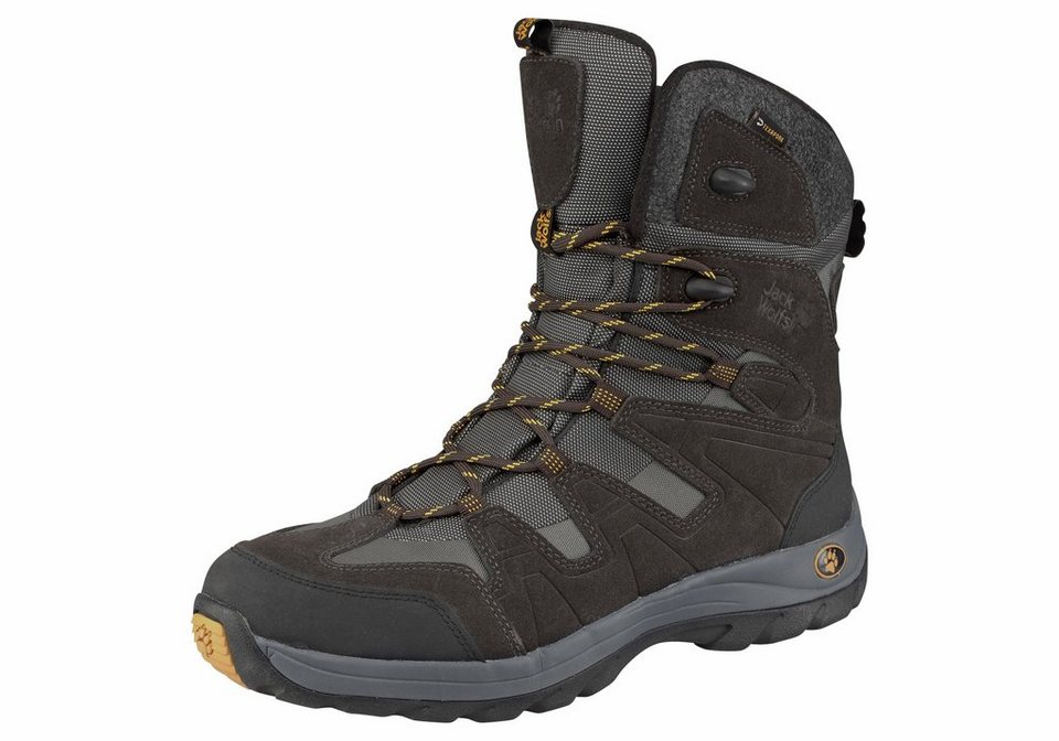 Jack Wolfskin »Icy Park Texapore Men« Outdoorwinterstiefel in schwarz