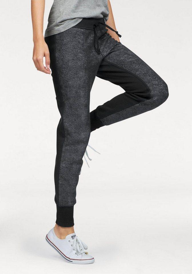 Converse Jogginghose in schwarz