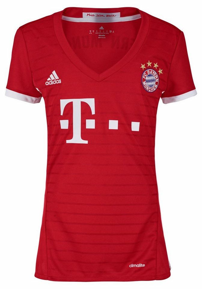 adidas Performance Trikot »FC BAYERN HOME JERSEY WOMAN« in rot